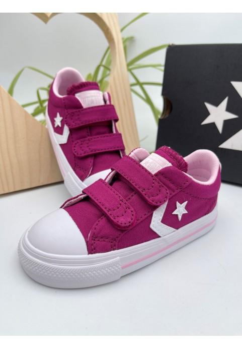Baskets Converse Star Player OX Violet